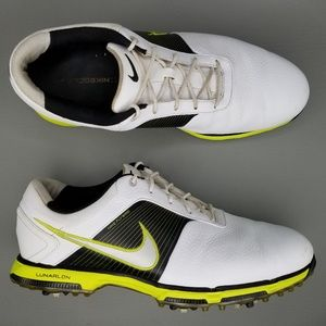 Nike Lunar Control Leather Golf Shoes 11.5 White